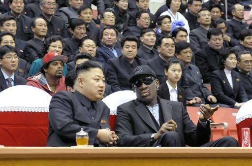 Basketball is Kim Jong Un's favourite sport and former NBA star Dennis Rodman has visited Pyongyang several times