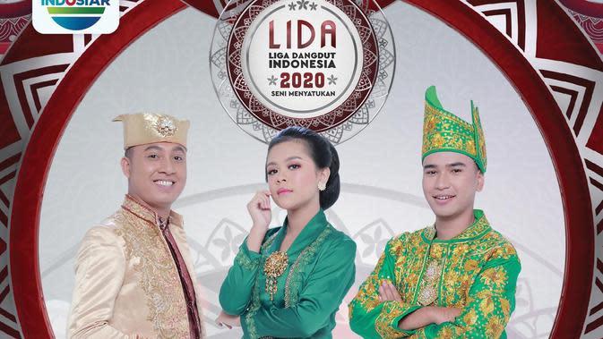 LIDA 2020 Grand Final dengan peserta Hari (Jambi), Meli (Jawa Barat) dan Gunawan (Maluku Utara) live di Indosiar, Minggu (27/9/2020)
