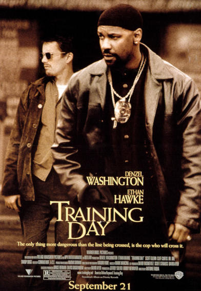 Denzel Washington Movie Titles - Training Day