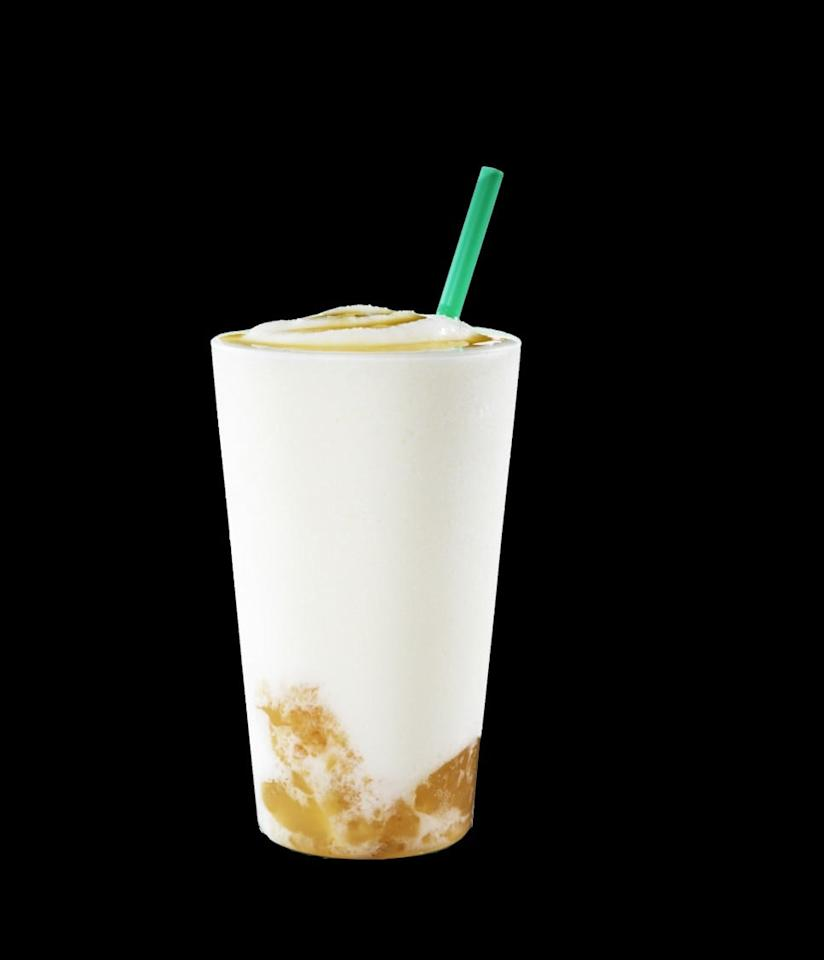 <p>A blend of tangy yogurt and yuzu honey is poured over a layer of yuzu jelly.</p>
