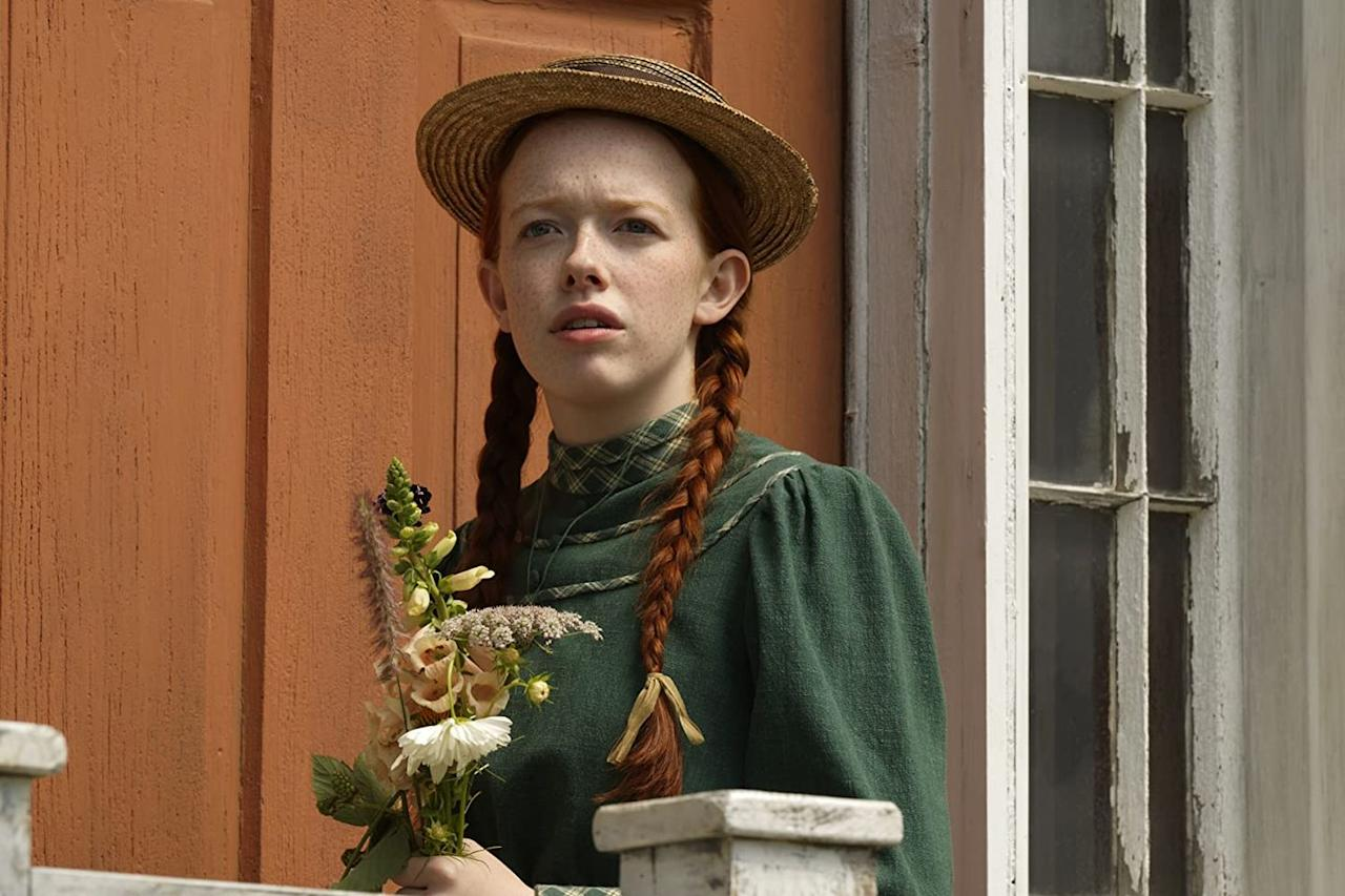 "<p><a class=""body-btn-link"" href=""https://www.netflix.com/watch/80136311"" target=""_blank"">Watch Now</a></p><p>Many a young woman has grown up under the spell of <em>Anne of Green Gables,</em> and this short-lived series captured the beauty and quaint charm of Avonlea with ease. Created in partnership with the Canadian Broadcasting corporation, the two networks decided to end the show after three spirited seasons.</p>"