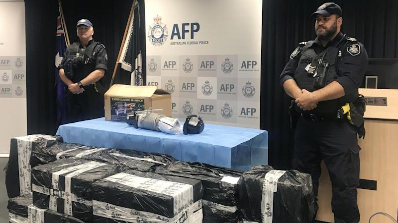 METHAMPHETAMINE SEIZURE AFP PRESSER