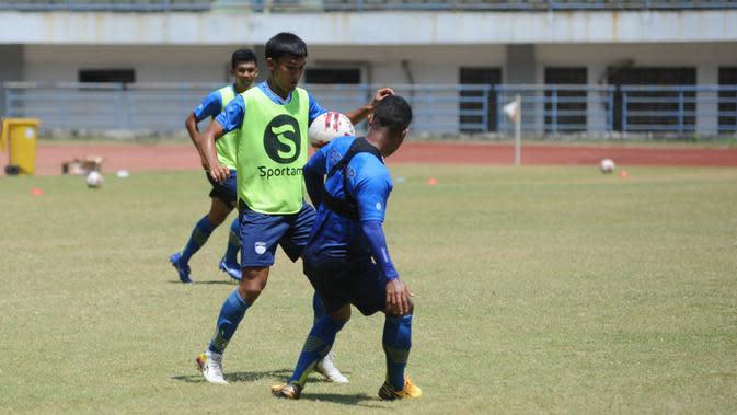 Pemain Persib Bandung Zalnando. (Foto: MO Persib Bandung)