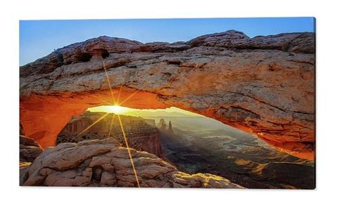 Mesa Arch Sunrise Canyonlands Panorama Mountain Landscape Decor Nature Photography Large Wall Art Moab Utah Artwork Panoramic Art Yahoo Shopping