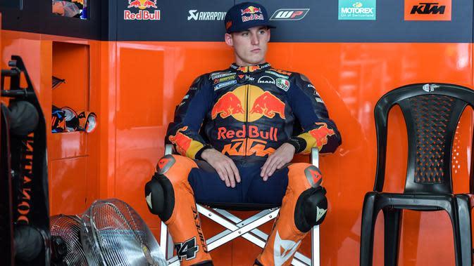 Pol Espargaro ingin menunggang motor kuat di MotoGP. (MOHD RASFAN / AFP)