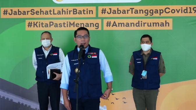 Ridwan Kamil: Kasus Harian Corona di Jabar Turun Setelah Ada PSBB