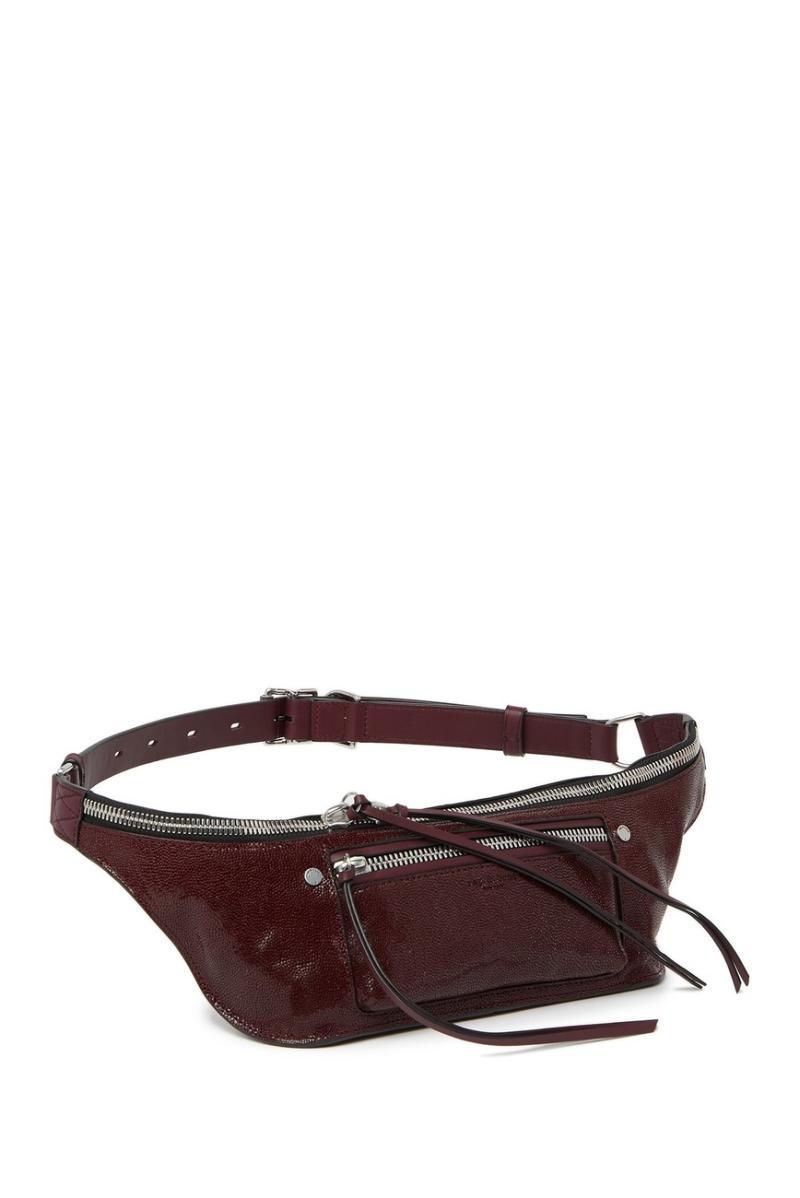 Rag & Bone Small Elliot Leather Belt Bag