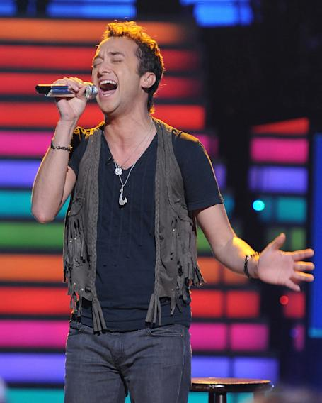 "Creighton Fraker performs ""True Colors"" by Cyndi Lauper on ""American Idol."""