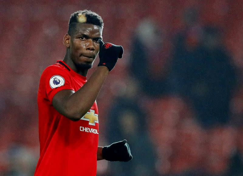 Man Utd's Pogba in high spirits after successful ankle surgery