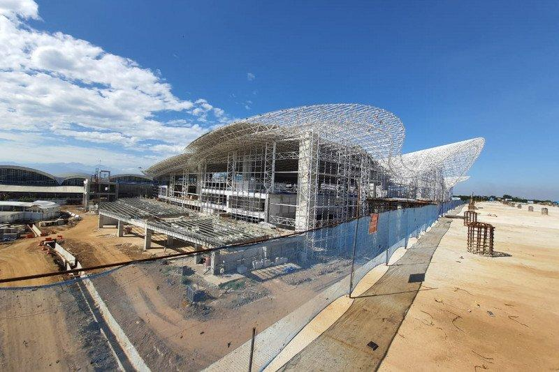 Kemajuan pengembangan Bandara Sultan Hasanuddin capai 55,17 persen