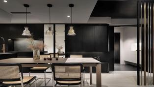 符合個性的家,住起來最舒適! 極簡黑白配色,讓老屋翻新變得低奢、有質感!
