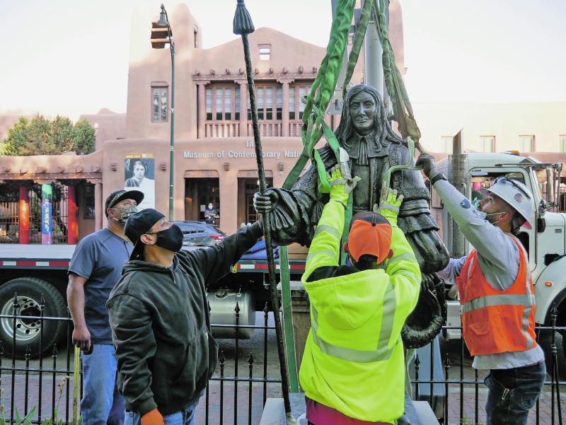 America Protests New Mexico