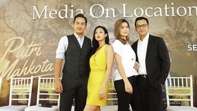 Dalam sinetron yang ditayangkan setiap hari dari Senin sampai Minggu ini, Gunawan memerankan Hanif, seorang pengusaha sukses yang naksir dengan sekretarisnya. (Bambang E Ros/Fimela.com)