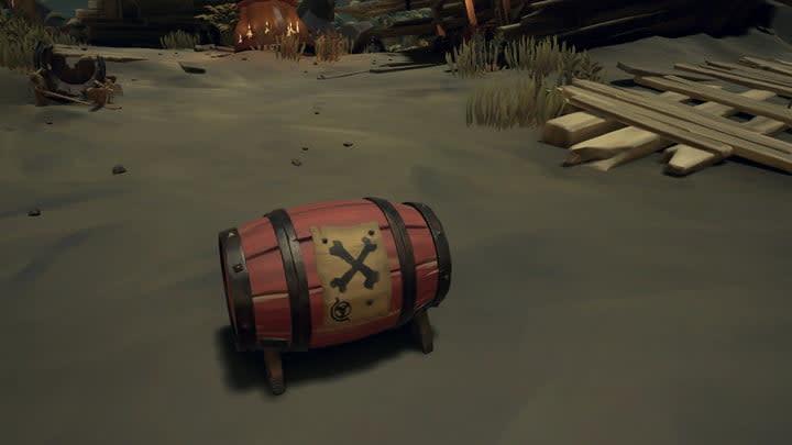 sea of thieves beginners guide gunpowder barrel