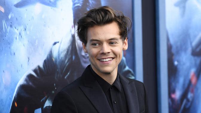 Smith pun mengatakan bahwa mungkin banyak yang tak menyangka akting Harry dalam film Dunkirk adalah pengalaman pertamanya. (ANGELA WEISS / AFP)