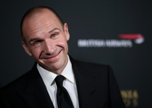 Ralph Fiennes arrives at the 2013 BAFTA Los Angeles Britannia Awards at the Beverly Hilton Hotel on Saturday, Nov. 9, 2013 in Beverly Hills, Calif. (Photo by Matt Sayles/Invision/AP)