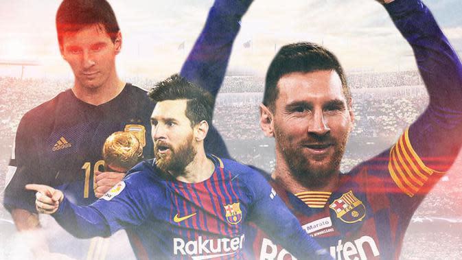 Barcelona FC - Lionel Messi (Bola.com/Adreanus Titus)