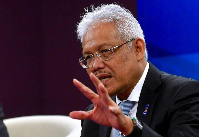 Datuk Seri Hamzah Zainuddin has been appointed as the new Parti Pribumi Bersatu Malaysia secretary-general, following the sacking of the previous incumbent Datuk Marzuki Yahya from the post. — Bernama pic