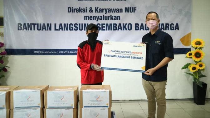 MUF Ajak Karyawan Urunan untuk Donasi Masyarakat yang Terdampak Pandemi