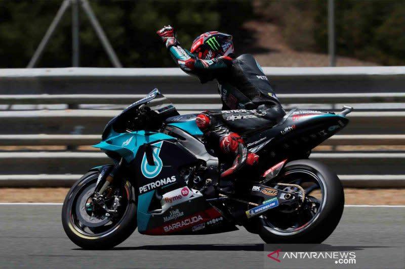 Quartararo, Morbidelli bawa Petronas Yamaha puncaki FP2 GP San Marino