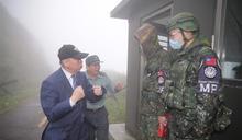 李棟樑慰訪部山區偏遠部隊 溫暖官兵