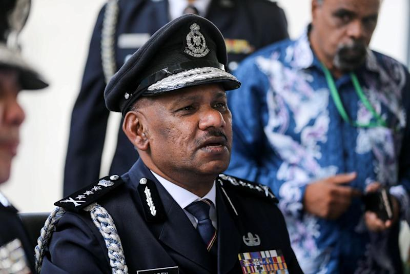 Penang Police Chief Datuk T. Narenasagaran said the group allegedly involving senior officers in the National Registration Department (NRD) was not a new development. ― Picture by Sayuti Zainudin