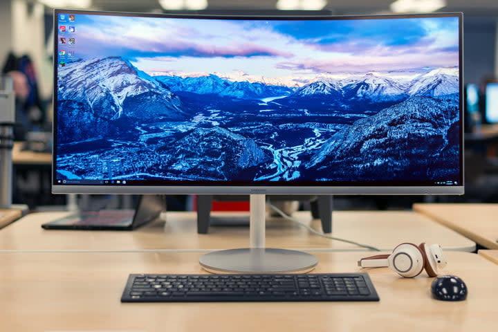 Samsung CF791 monitor review