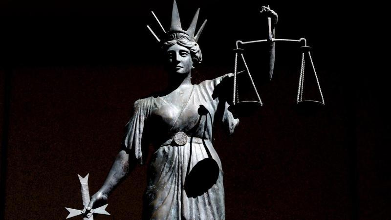 JUSTICE STATUE STOCK