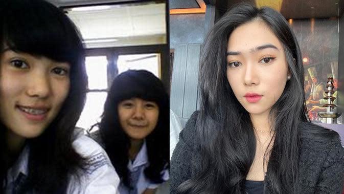 Beda Penampilan 6 Penyanyi Tanah Air Saat SMA Vs Kini, Bikin Pangling (sumber: Twitter.com/isyanasaras dan Instagram.com/isyanasarasvati)