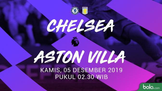 Deretan Angka dan Fakta Jelang Duel Chelsea Vs Aston Villa