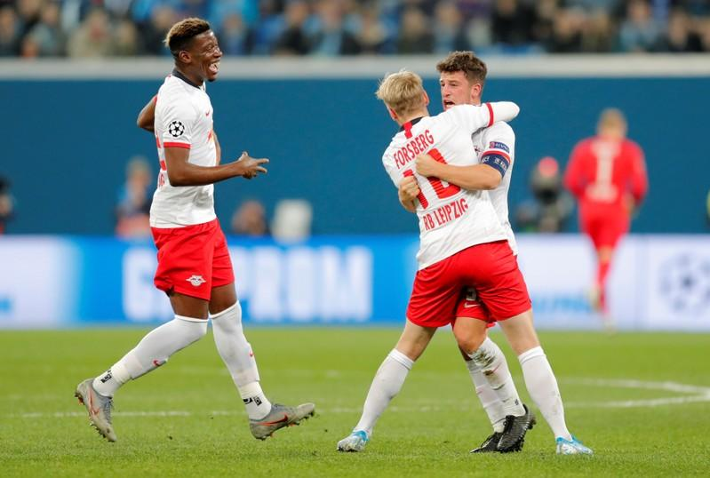 RB Leipzig untroubled by Zenit in comfortable win