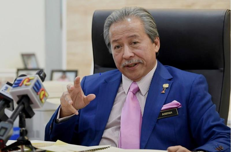 Datuk Seri Anifah Aman has defended his move of meeting Datuk Mohamaddin Ketapi, explaining that the latter was merely asking him for his opinion as an old friend. — Bernama pic