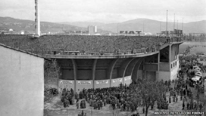 Stadion Fiorentina, Artemio Franchi. (Dok. ARCHIVIO FOTO LOCCHI FIRENZE)