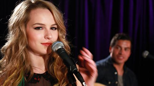 Disney Actress And Singer Bridgit Mendler Inspired By Bob Dylan And The Fugees