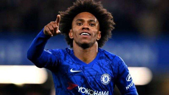 Resmi, Willian Gabung ke Arsenal