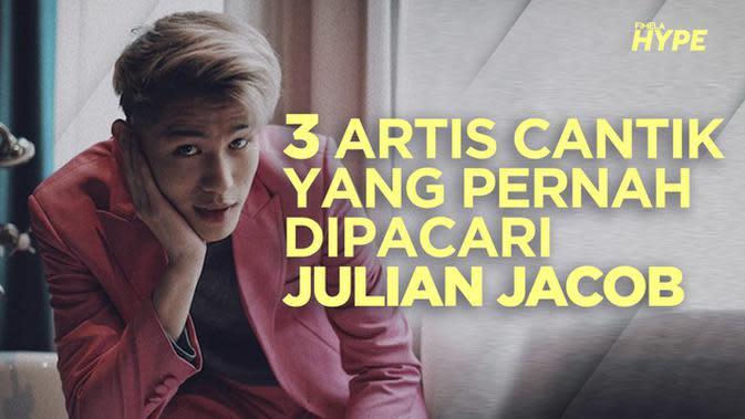 3 Artis Cantik yang Pernah Dipacari Julian Jacob