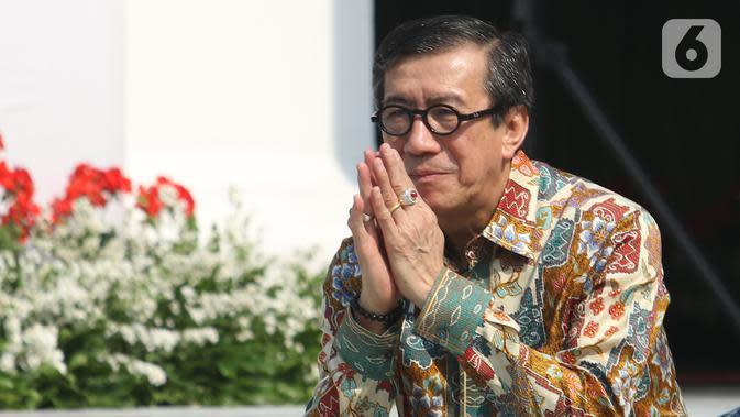Kemenkumham Klarifikasi soal Menteri Yasonna Salah Masuk Mobil