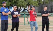 徐生明少棒賽棒球教室 職棒球星任講師 (圖)