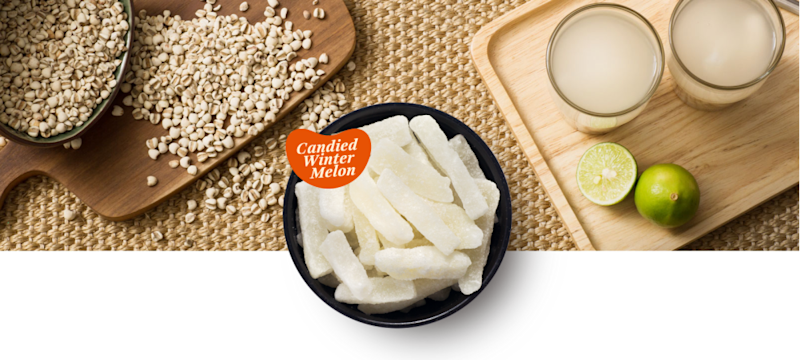 Winter melon strips are typically used as a natural sweetener in soupy desserts and are believed to have cooling properties. — Picture via sweet-home.my