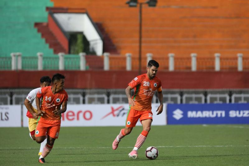 I-League 2018-19: Katsumi Yusa stars as NEROCA FC break Churchill Brothers' unbeaten run