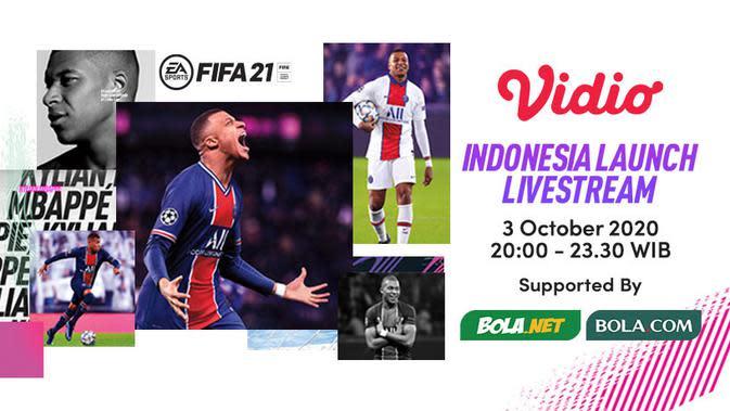 Launching FIFA 21 di Vidio
