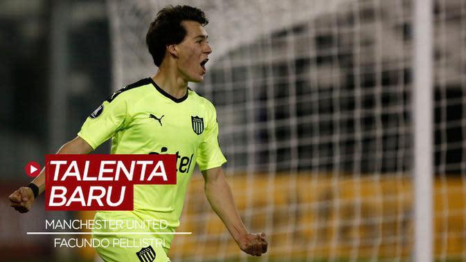 VIDEO: Mengenal Wonderkid Baru Manchester United, Facundo Pellistri