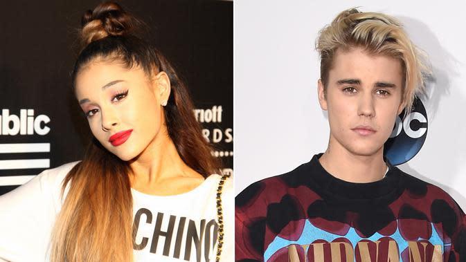 Ariana Grande - Justin Bieber (Wetpaint)