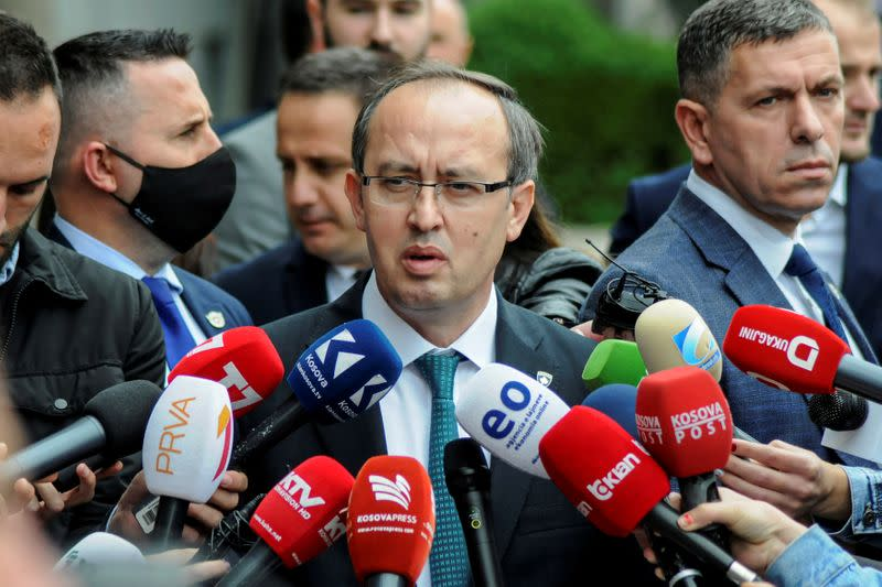 Kosovo prime minister says he has COVID-19