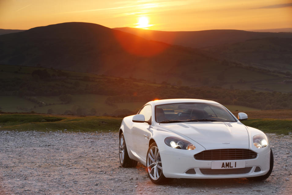 28.DB9 (2003-2012) – The DB9 made a huge impact at the 2003 Frankfurt Motor Show and represented a new era for Aston Martin, with the first to use what is known as VH (Vertical/Horizontal) architecture. The DB9 was given a major refresh in late 2012 (AMHT)