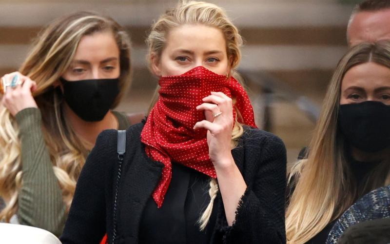 Amber Heard - Reuters
