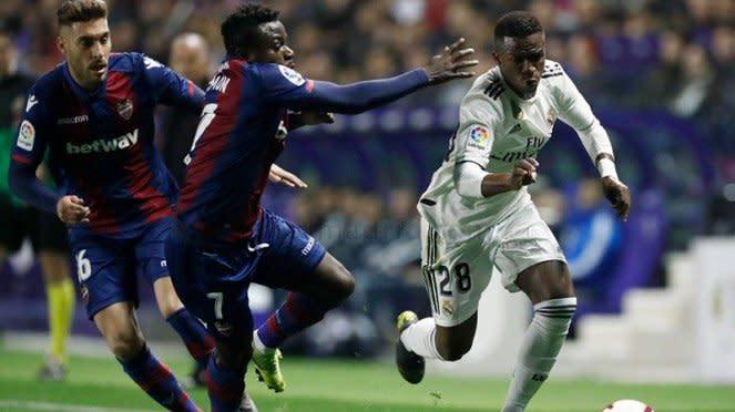 Pertandingan Levante vs Real Madrid