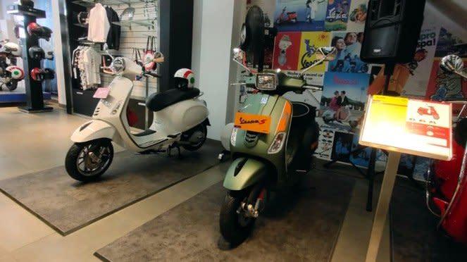 Diler baru Vespa di Rawamangun, Jakarta Timur