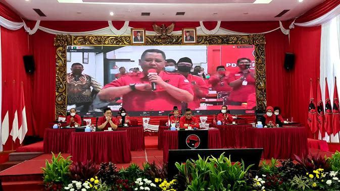 Pengumuman Calon Kepala Daerah PDIP Gelombang ke V. (Foto: Dokumentasi PDIP).