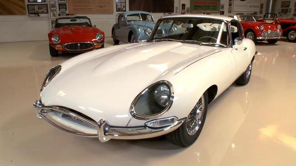 The pleasure of an all-original 1963 Jaguar XKE with Jay Leno